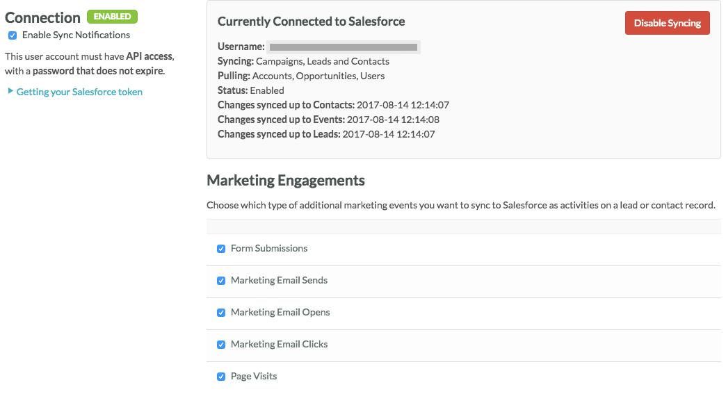 Salesforce Integration Overview – SharpSpring